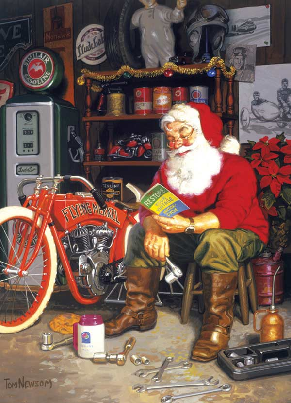 Funny Biker Christmas Cards