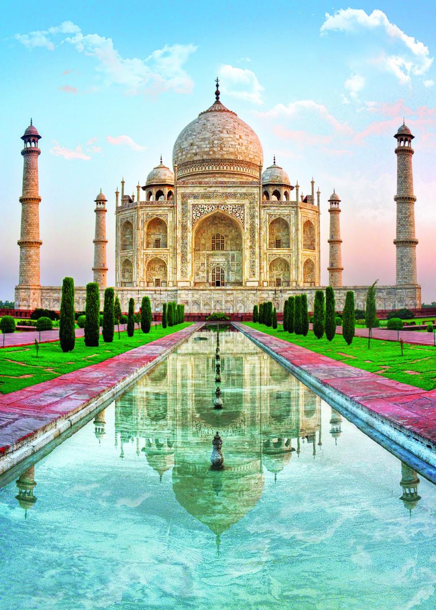 Taj Mahal India Jigsaw Puzzle