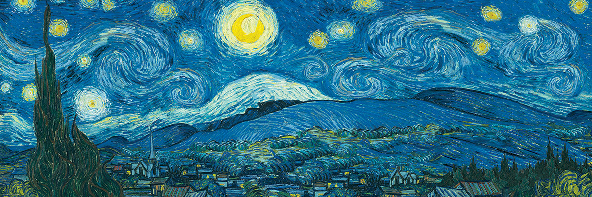 starry night panorama expanded