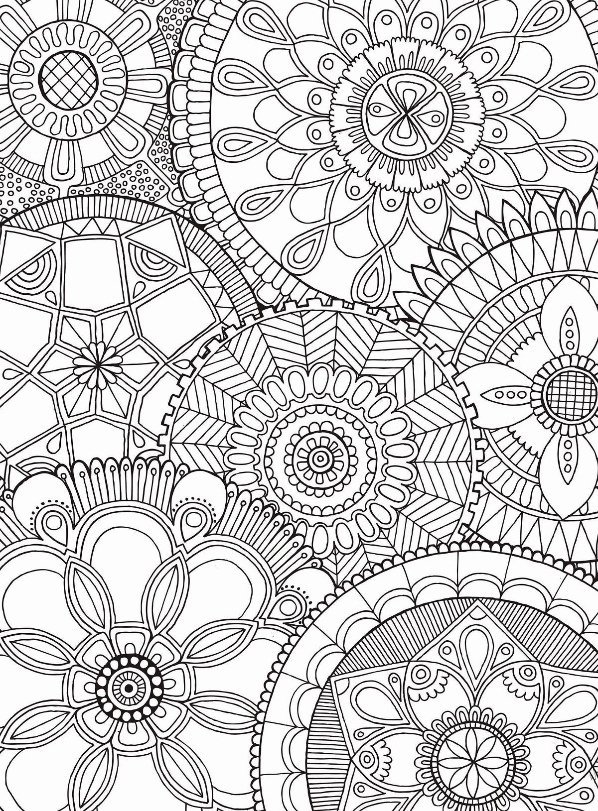 Mandala Collage Jigsaw Puzzle