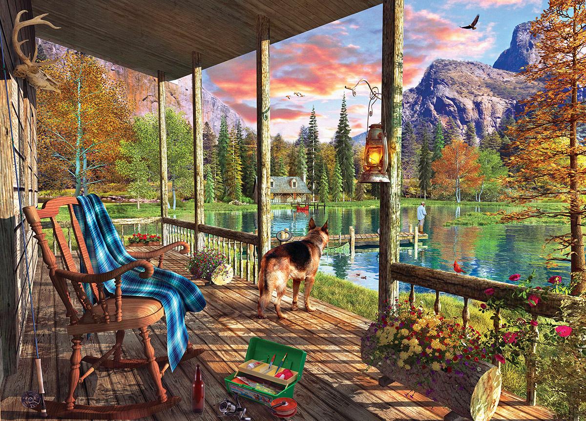 Sunset Ritual Jigsaw Puzzle  PuzzleWarehousecom