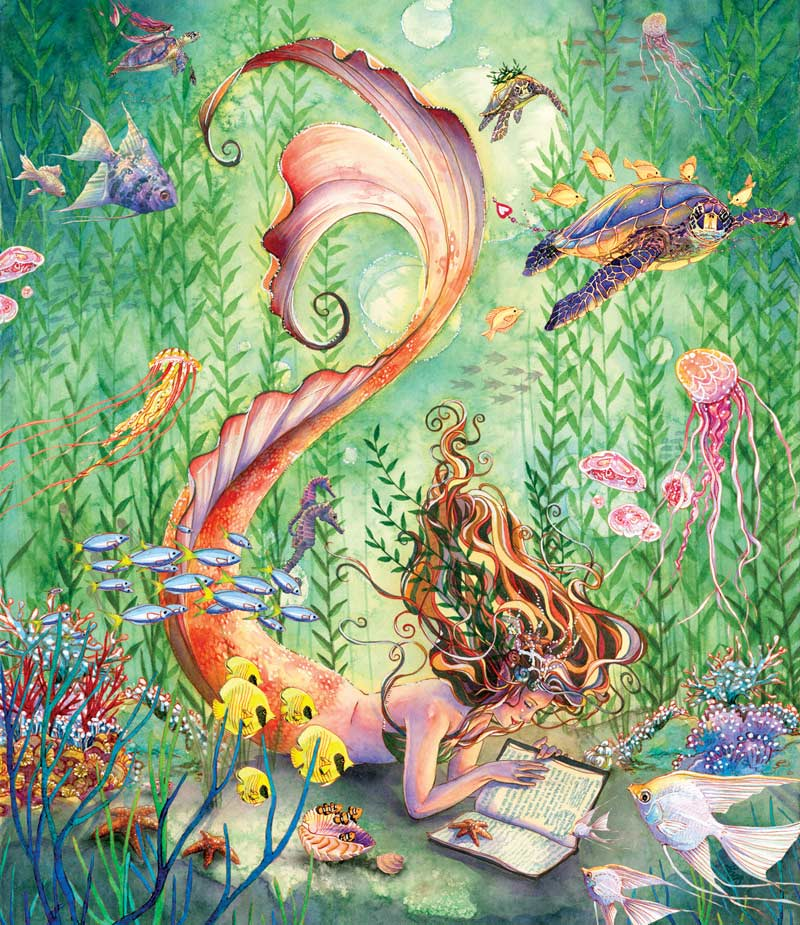 Mermaids Quiet Moment Jigsaw Puzzle