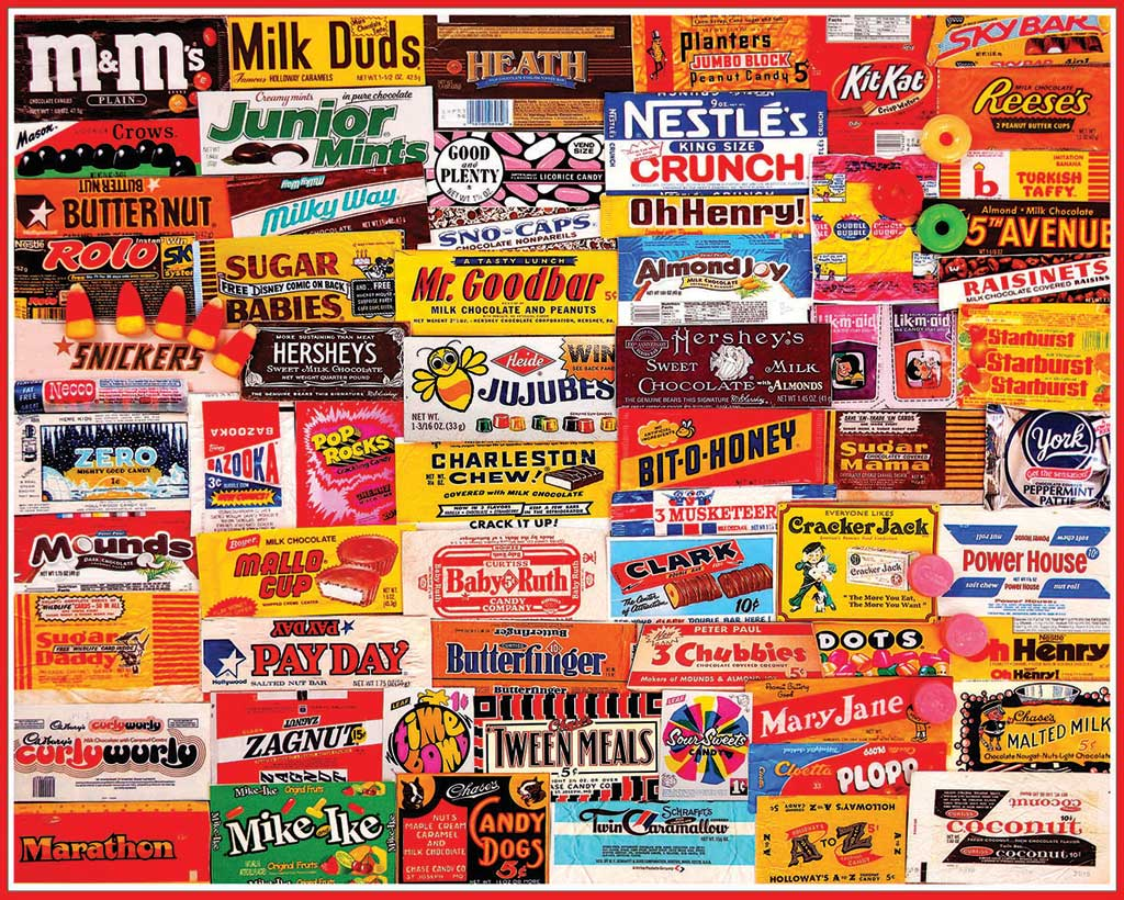 List Of Candy Names