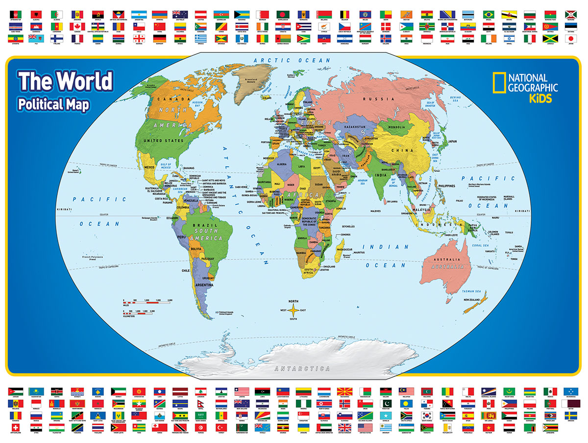 The World Kids Map Jigsaw Puzzle