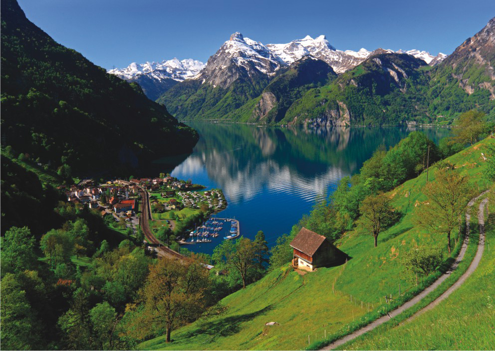 Lake Lucerne Switzerland Jigsaw Puzzle