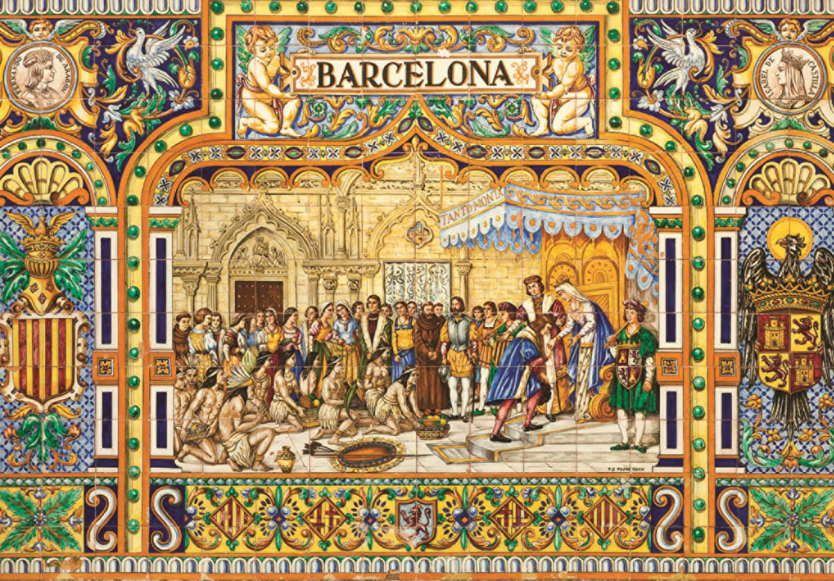 Tiles of Barcelona Jigsaw Puzzle  PuzzleWarehousecom