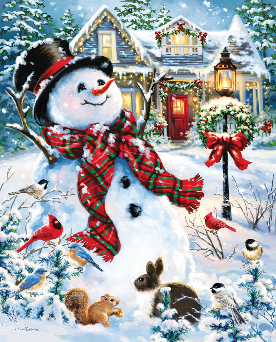Old Fashioned Holiday Jigsaw Puzzle