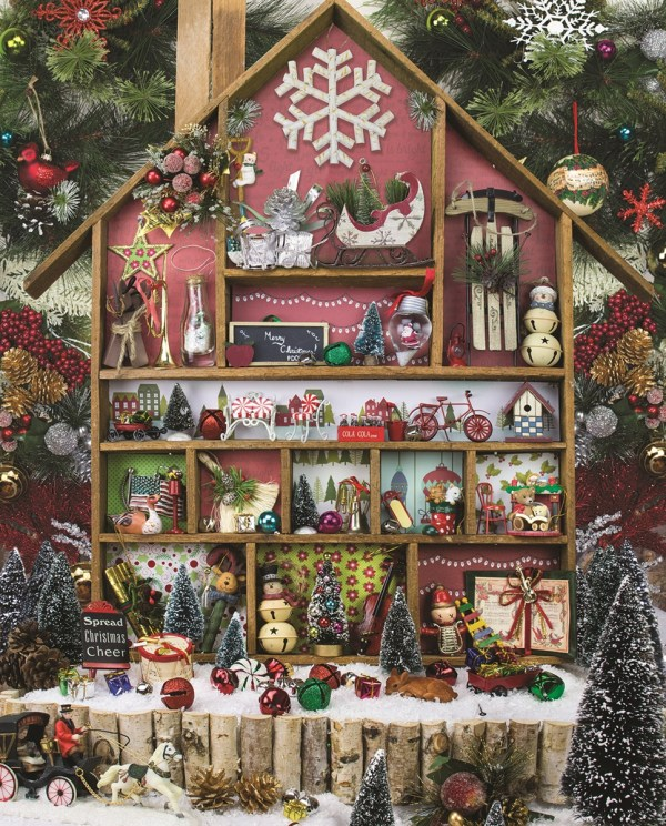 Christmas Country Home Jigsaw Puzzle
