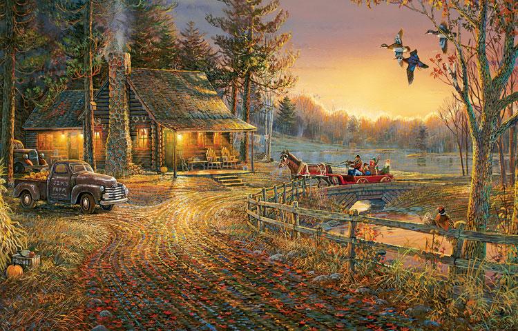 Fall Harvest Computer Wallpaper Autumn Ride Jigsaw Puzzle Puzzlewarehouse Com