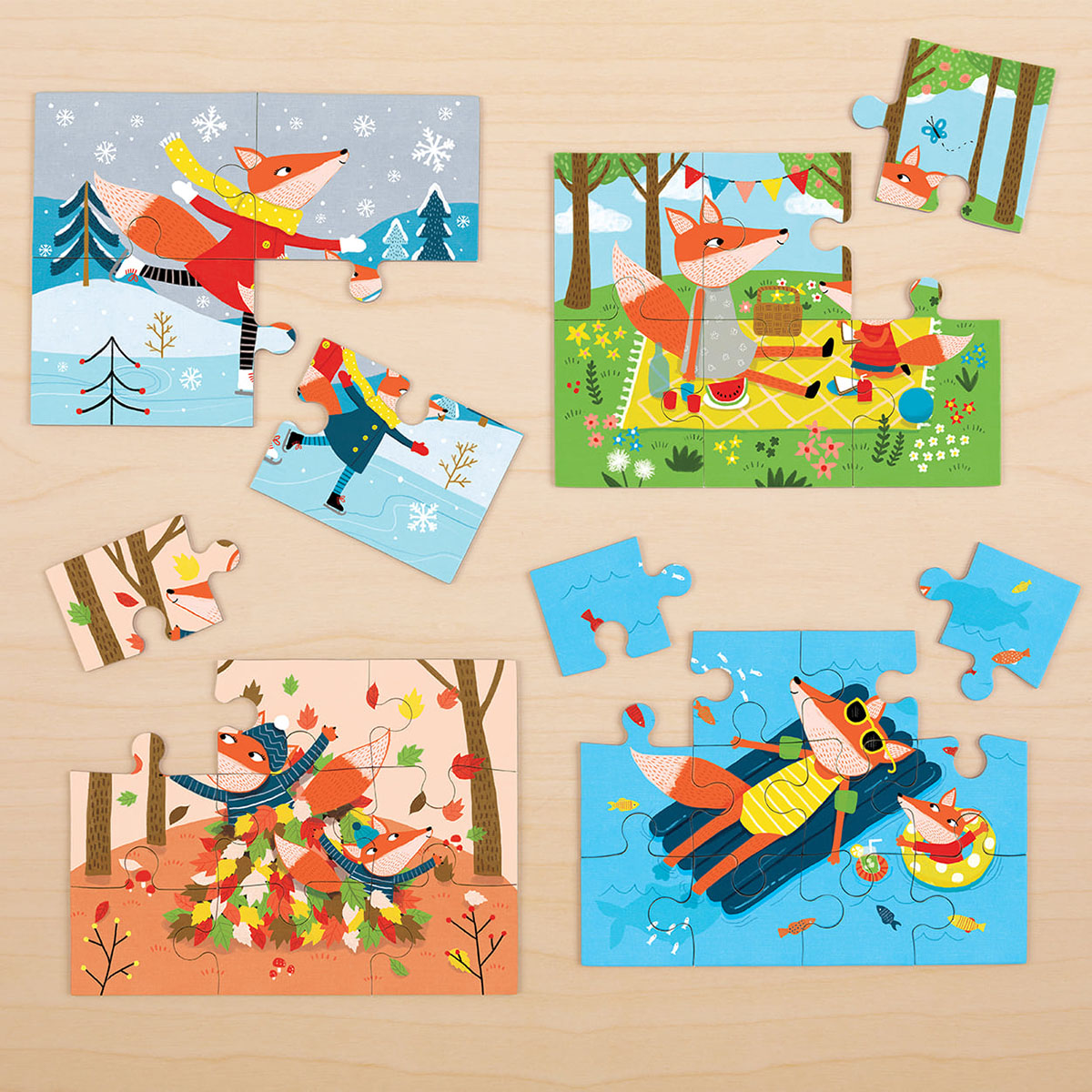 Four Seasons Jigsaw Puzzle