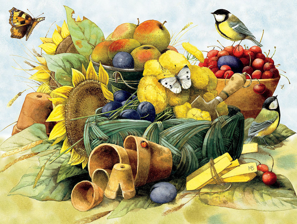 Fall Harvest Jigsaw Puzzle