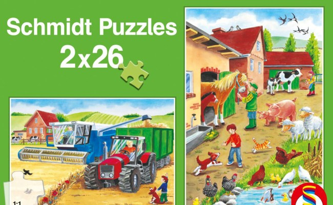 On The Farm Jigsaw Puzzle Puzzlewarehouse