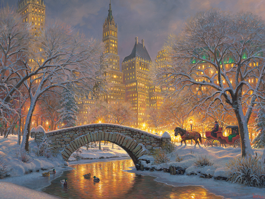 Computer Desktop Hd Wallpapers Fall Nyc Winter In The Park Jigsaw Puzzle Puzzlewarehouse Com