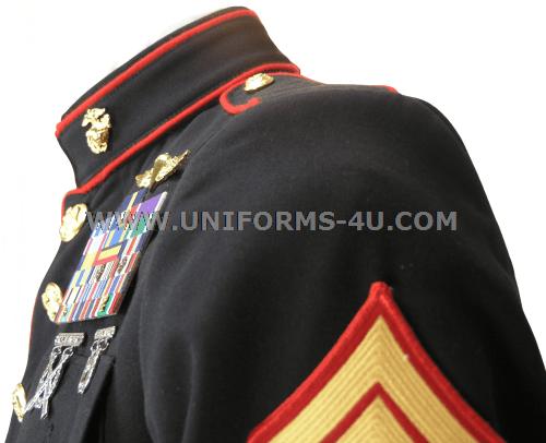 usmc enlisted dress blue