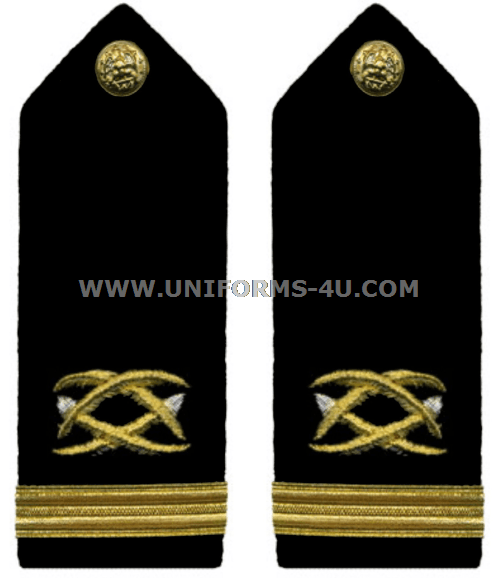 US NAVY OFFICER CIVIL ENGINEER CORPS HARD SHOULDER BOARDS