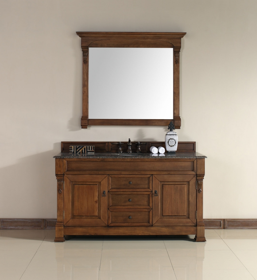 60 inch kitchen sink base cabinet wall art decor single bathroom vanity in country oak ...