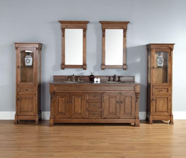 72 inch double sink bathroom vanity in country oak uvjmf147114577172