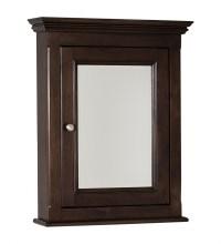 Perri Rectangular Walnut Medicine Cabinet UVAI238