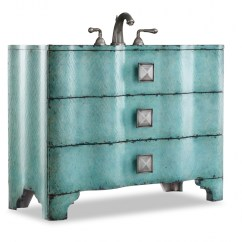 Counter Top Kitchen Table Sets Remodel Hawaii 44 Inch Single Sink Bathroom Vanity With Turquoise ...