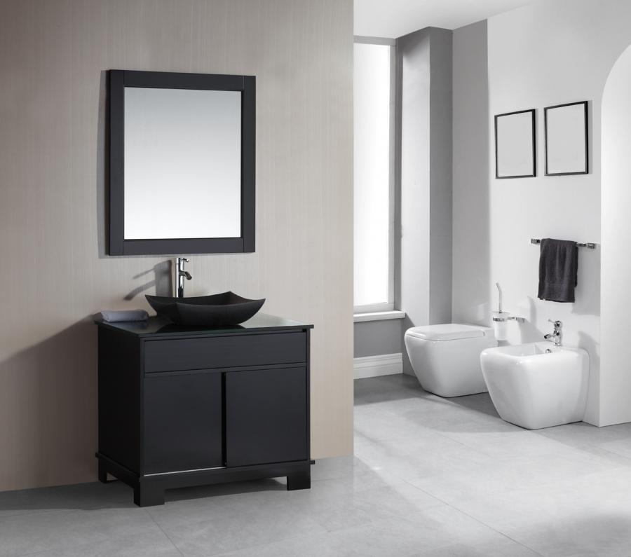 Espresso Bathroom Light