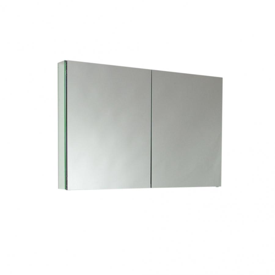 Two Mirrored Door Medicine Cabinet UVFMC8010