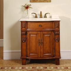 Mahogany Kitchen Cabinets Chicken Rugs 33 Inch Hand Carved Single Sink Vanity Cabinet Uvsr020433
