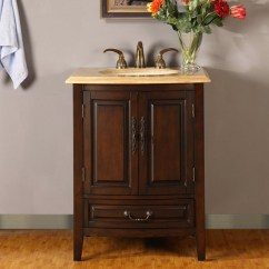 Three Hole Kitchen Faucet Cabinets Near Me 27 Inch Single Sink Vanity With Under Counter Led Lighting ...