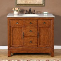 42 Inch Traditional Single Bathroom Vanity with Choice of