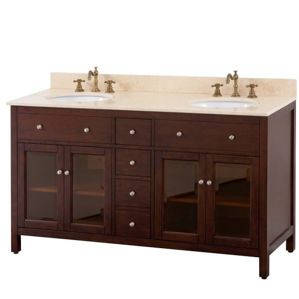 Double Bathroom Vanity With Choice Of Top Uvaclexingtonv60le60