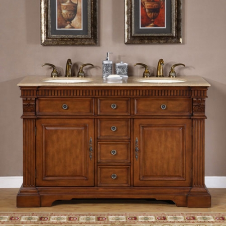 counter top kitchen table sets retro wallpaper 55 inch furniture style double sink bathroom vanity uvsr018155