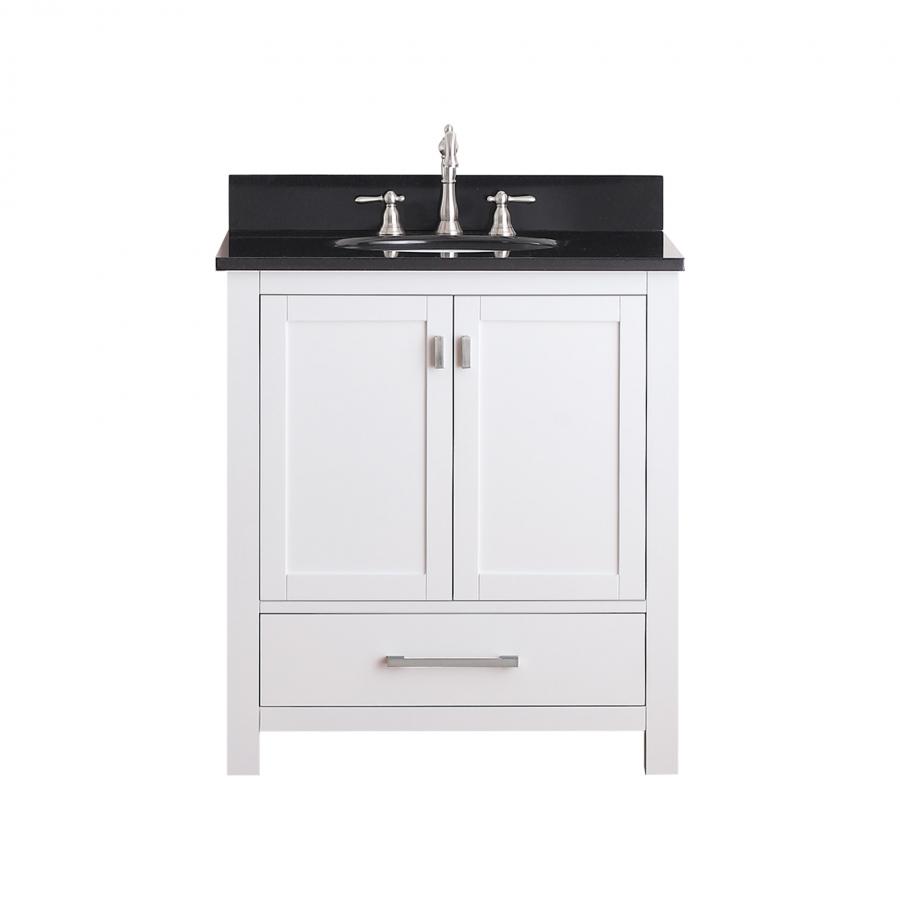 30 Inch Single Sink Bathroom Vanity with Soft Close Hinges
