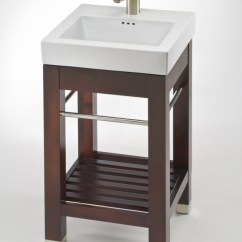 Average Size Of Kitchen Sink Green Appliances 17.9 Inch Single Square Console Bathroom Vanity With ...