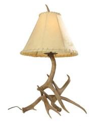 Mule Deer Antler Table Lamp UVSIS134