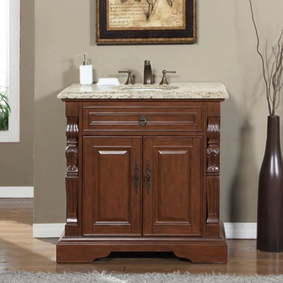 kitchen faucet review wooden shelves 36 inch traditional single bathroom vanity with venetian ...