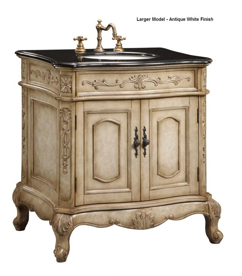 24 Inch Single Sink Furniture Style Bathroom Vanity UVEIVE24