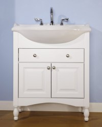 Narrow Vanity Sink - Home Design