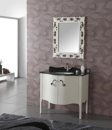 36 5 Inch Transitional Single Sink Bathroom Vanity In