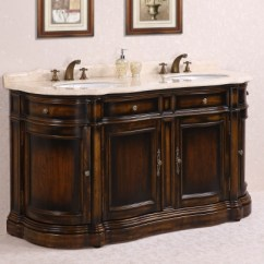 Wrought Iron Kitchen Sets Kohler Undermount Sinks 66 Inch Double Sink Bathroom Vanity With Cream Marble ...