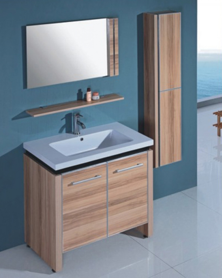 31 5 Inch Modern Single Sink Bathroom Vanity Set With Mirror On Sale