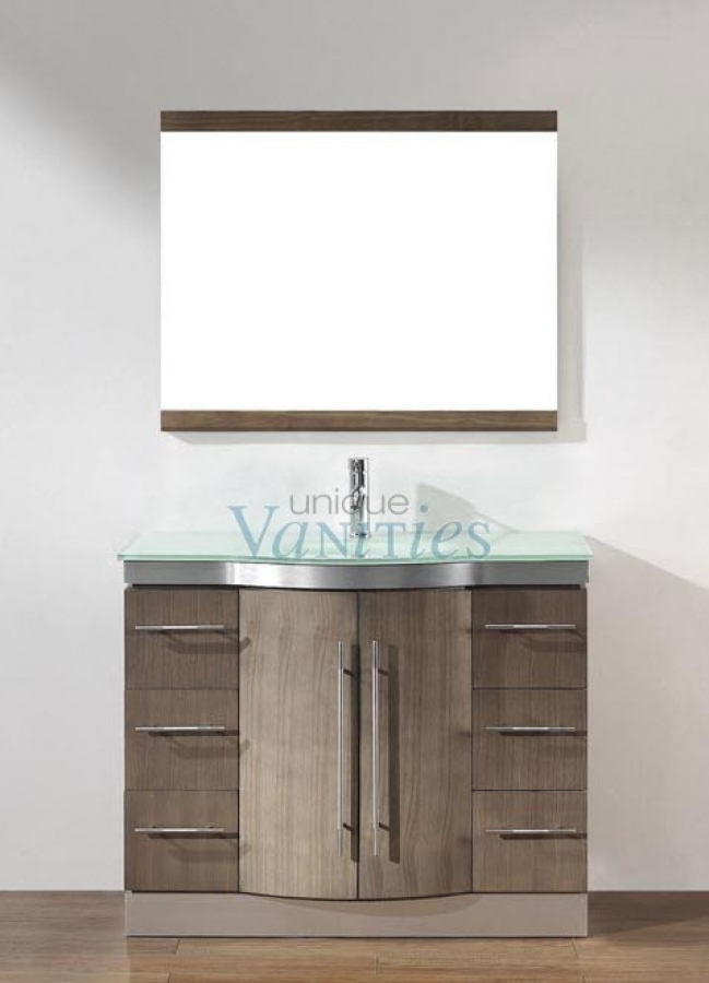 42 inch kitchen cabinets pre-rinse faucet single sink bathroom vanity with choice of top in ...