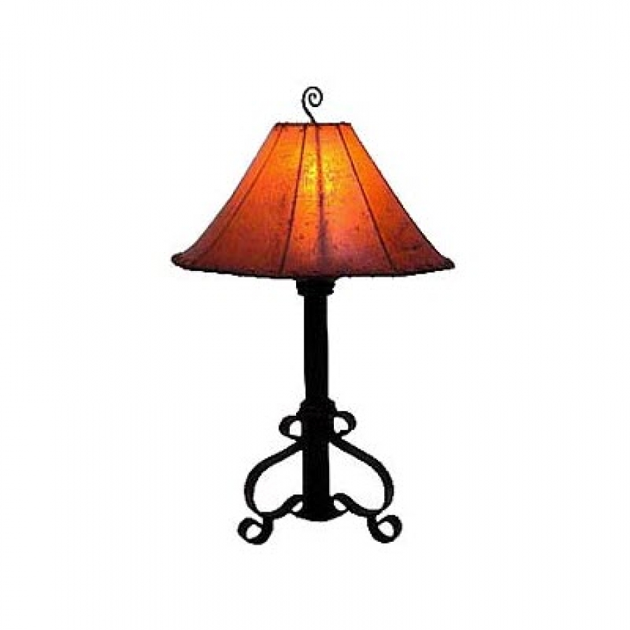 Hand Made Wrought Iron Table Lamp UVAGTL0001