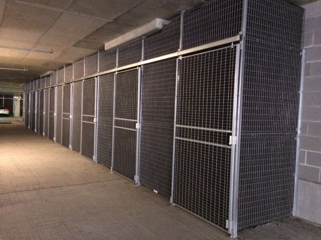 Wire Mesh Partitions  Unistrut Midwest
