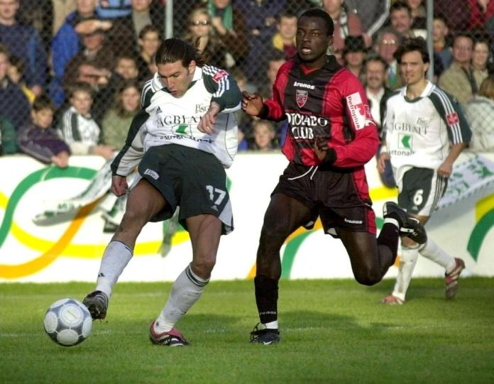 He also played for Xamax.  This club was the first professional station for the Senegalese.