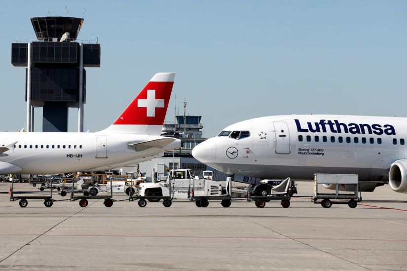 A dozen routes across 88 destinations in all (67 from Zurich and 21 from Geneva) are affected by the changes.