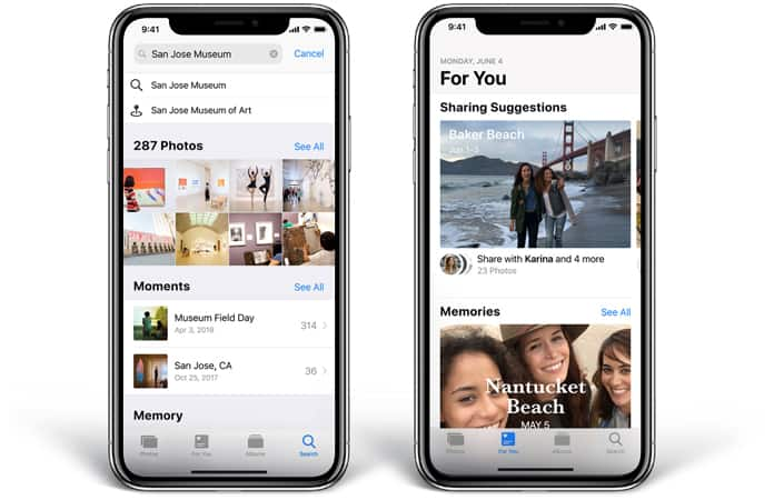 iphone x features in ios 12