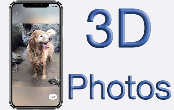 How to Enable And Create 3D Photos on Facebook from iPhone or Android