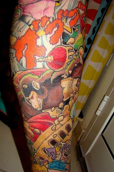 Tatuaggio top  UNOTRE