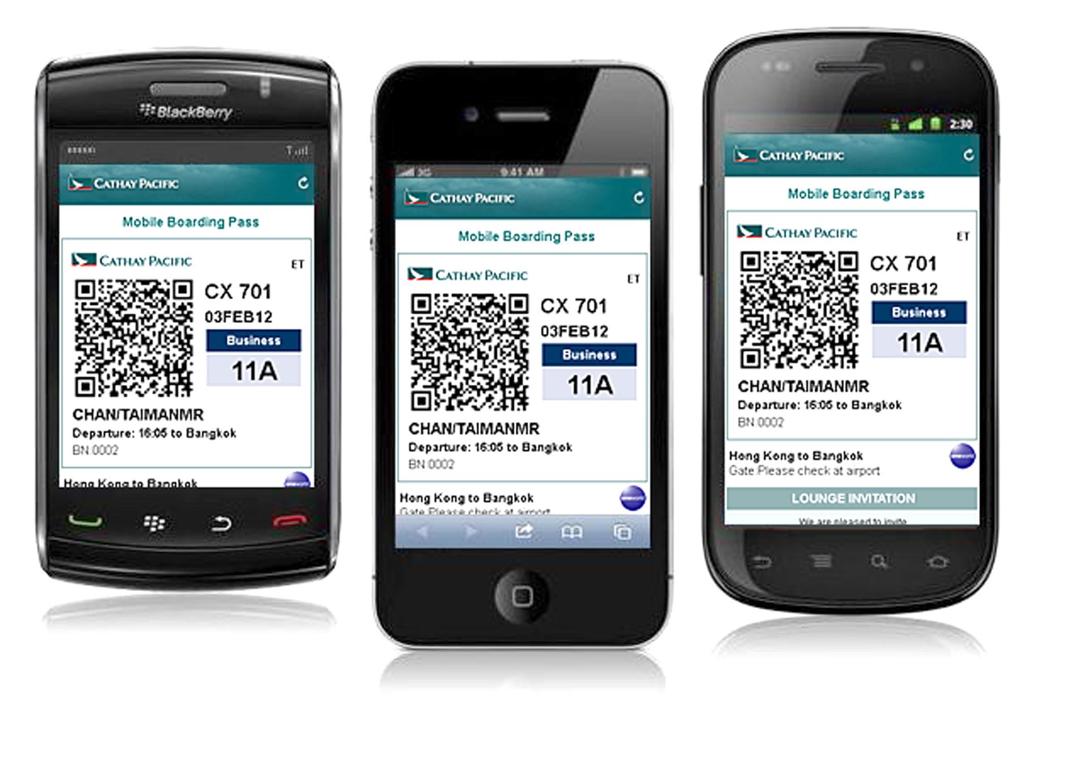 「Do」一下即登機:機場推手機登機證服務 - 香港 unwire.hk