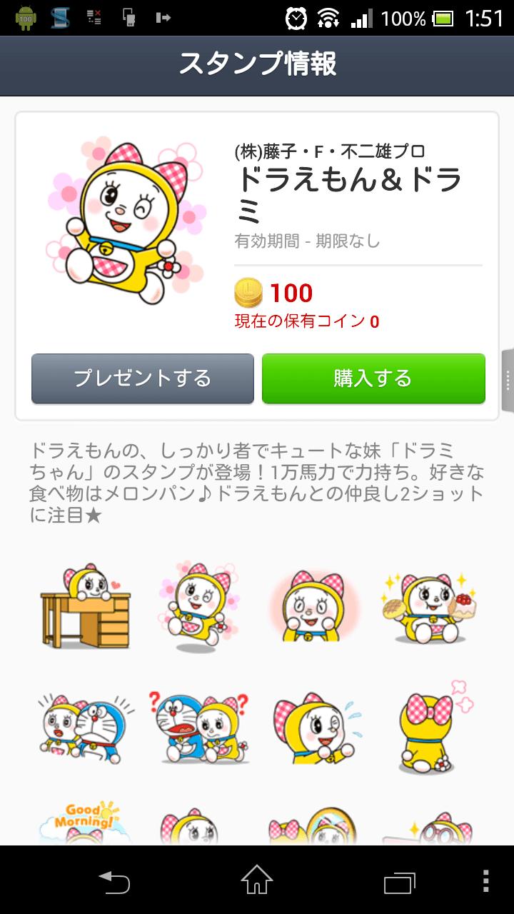 【LINE Sticker】多啦美與哥哥溫馨登場! - UNWIRE.HK