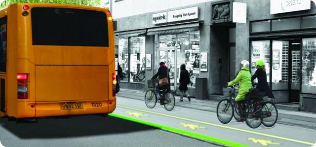 減少人車爭路 丹麥將測試 LED 巴士站 - 香港 unwire.hk